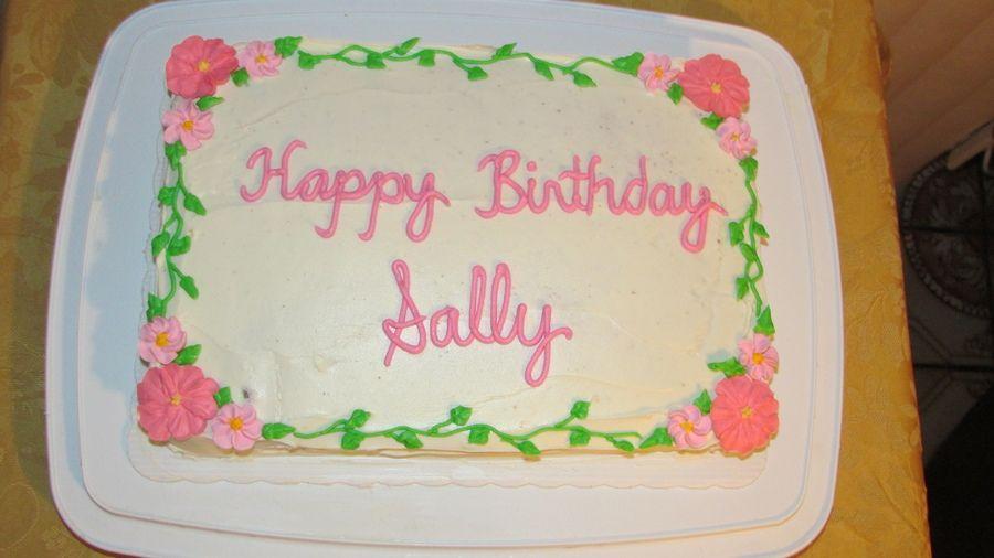 Happy Birthday Sally Happy Birthday Birthday Birthday Celebration