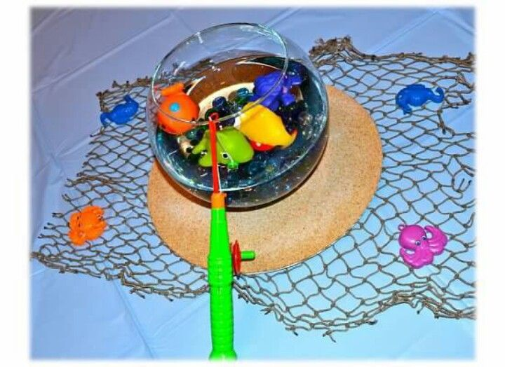 Fish bowl centerpieces kids table wedding ideas for Fish bowl ideas