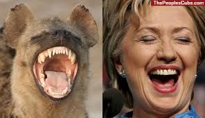 This laughing Hyena if elected will lead us down a path of no return.