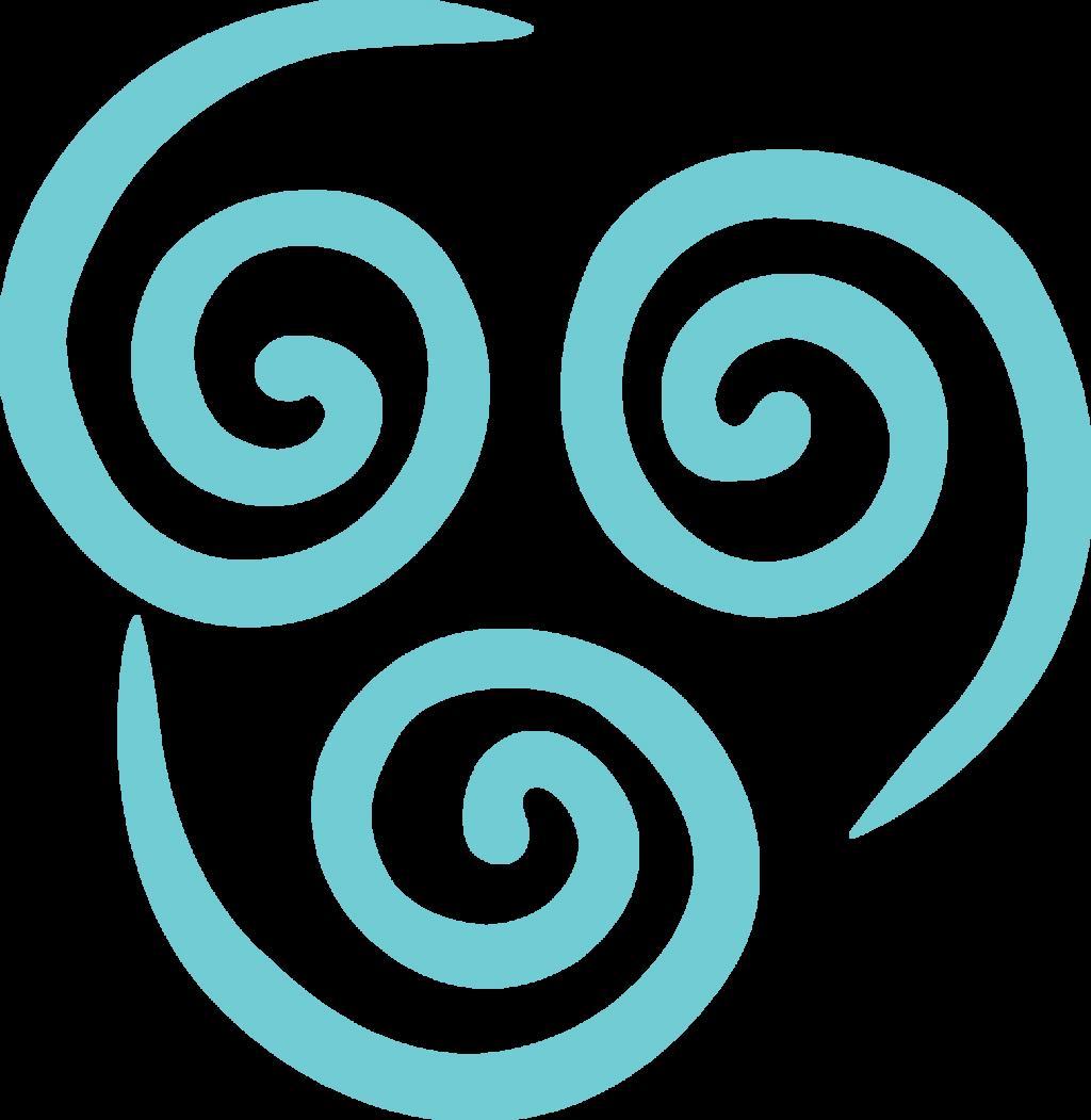 Air Bending Emblem Fill By Mr Droy On Deviantart Avatar Tattoo Art And Craft Design Stencil Designs