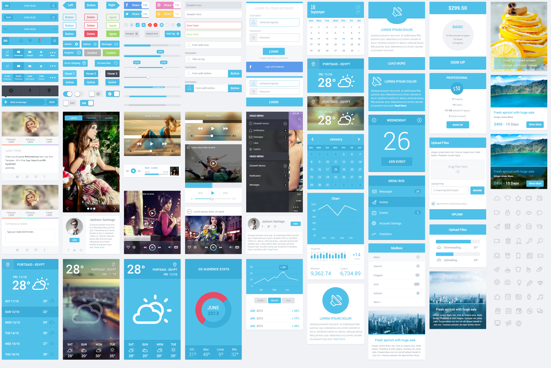 Top 25 ideas about Mobile App Ui Kit on Pinterest   App design ...