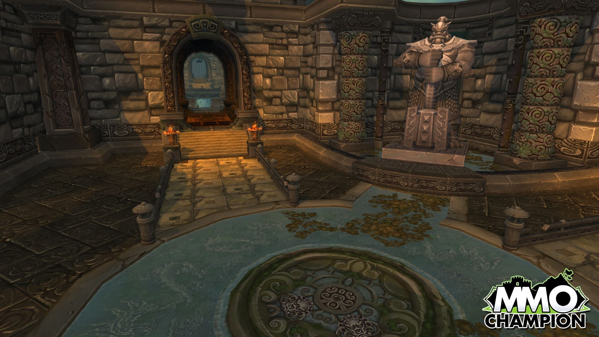 Wow Throne Of Thunder Google Search Game Environment Image Throne