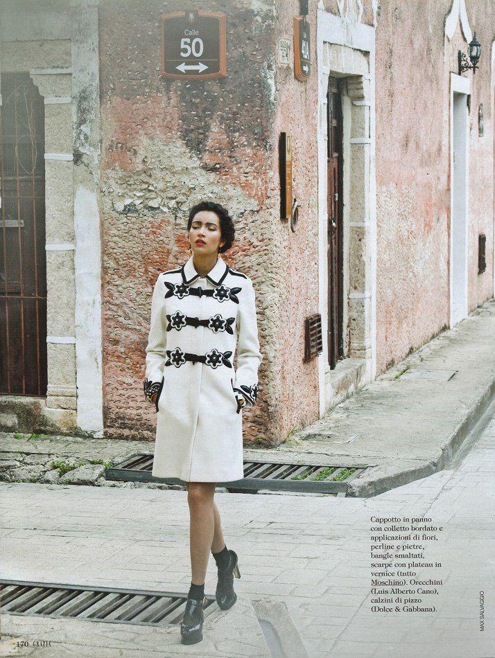 Daniela de Jesus by Max Salvaggio for Grazia Italia #39 September 24, 2012