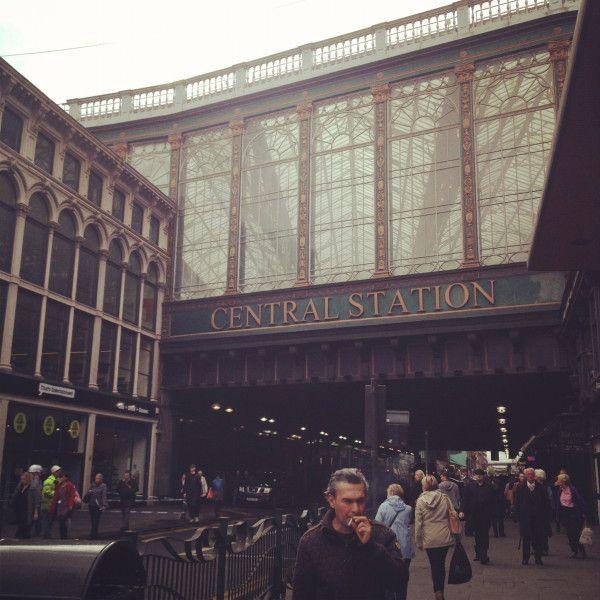 Glasgow, Central Station, City