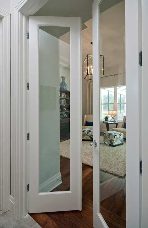 Interior Single Glass Panel Door Raymond Design Studio
