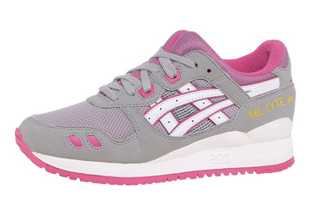 asics grey pink