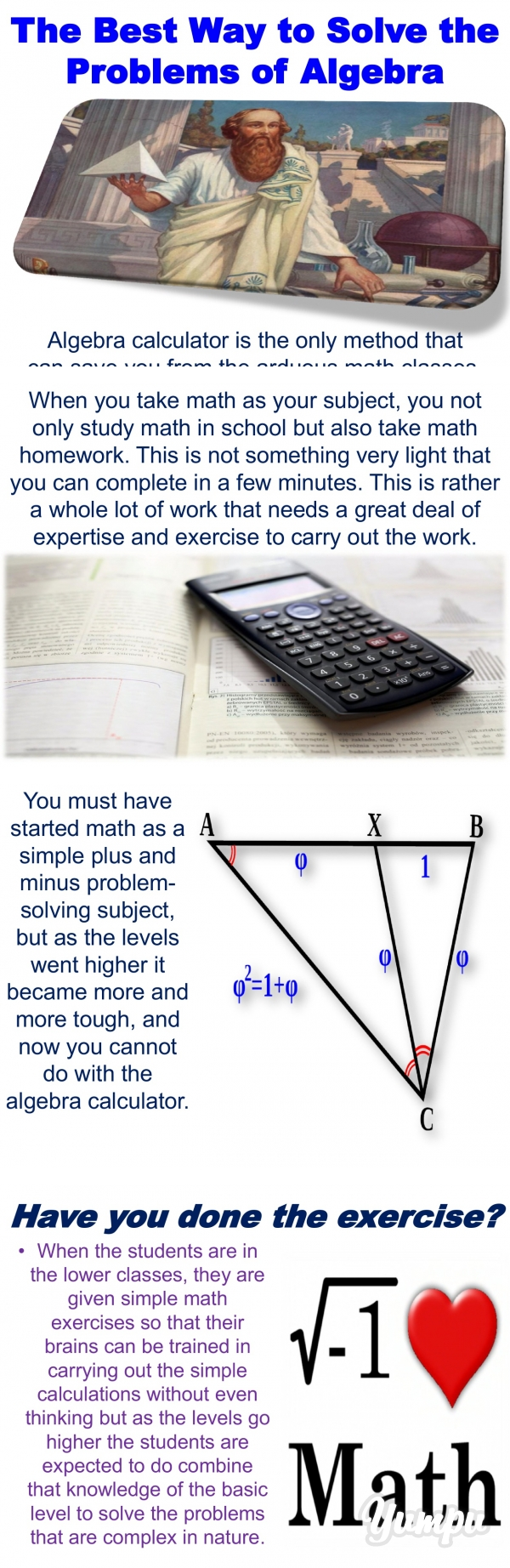 The Best Way to Solve the Problems of Algebra - Magazine with 17 ...