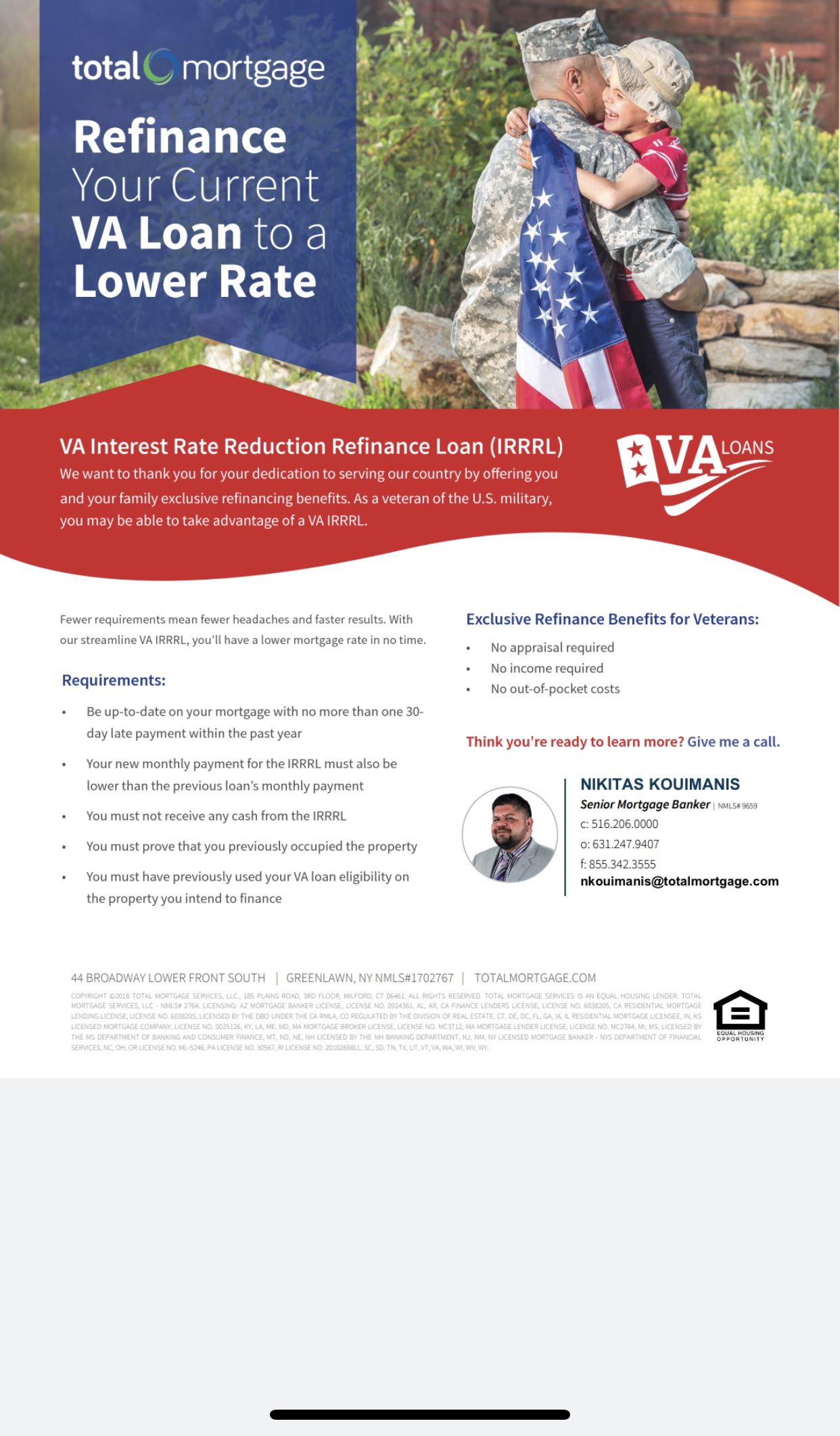Current va home loan rates today