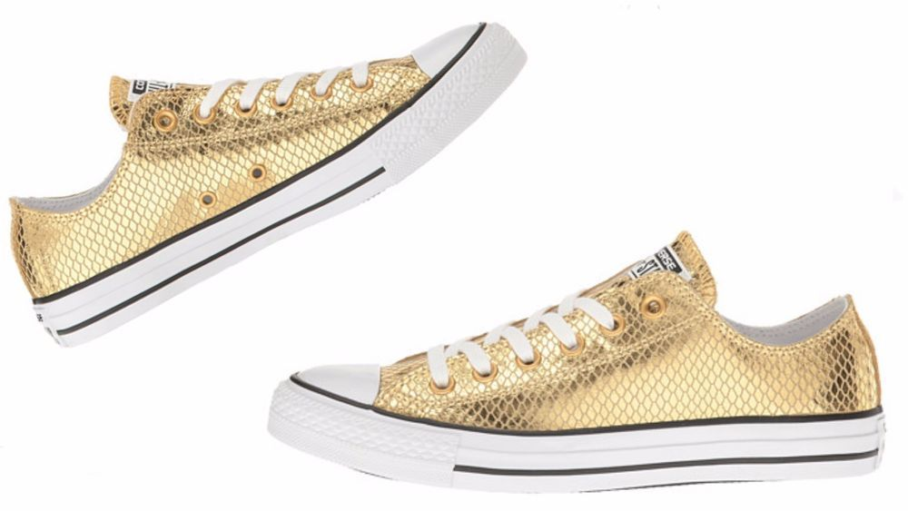 Converse Chuck Taylor All Star Metallic Snake Ox sneakers