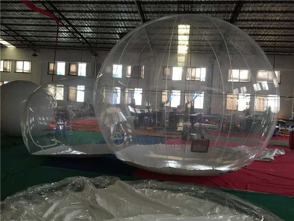 Outdoor Transparent Inflatable Bubble Tent Clear C&ing Tent Crystal Bubble Tent & Outdoor Transparent Inflatable Bubble Tent Clear Camping Tent ...