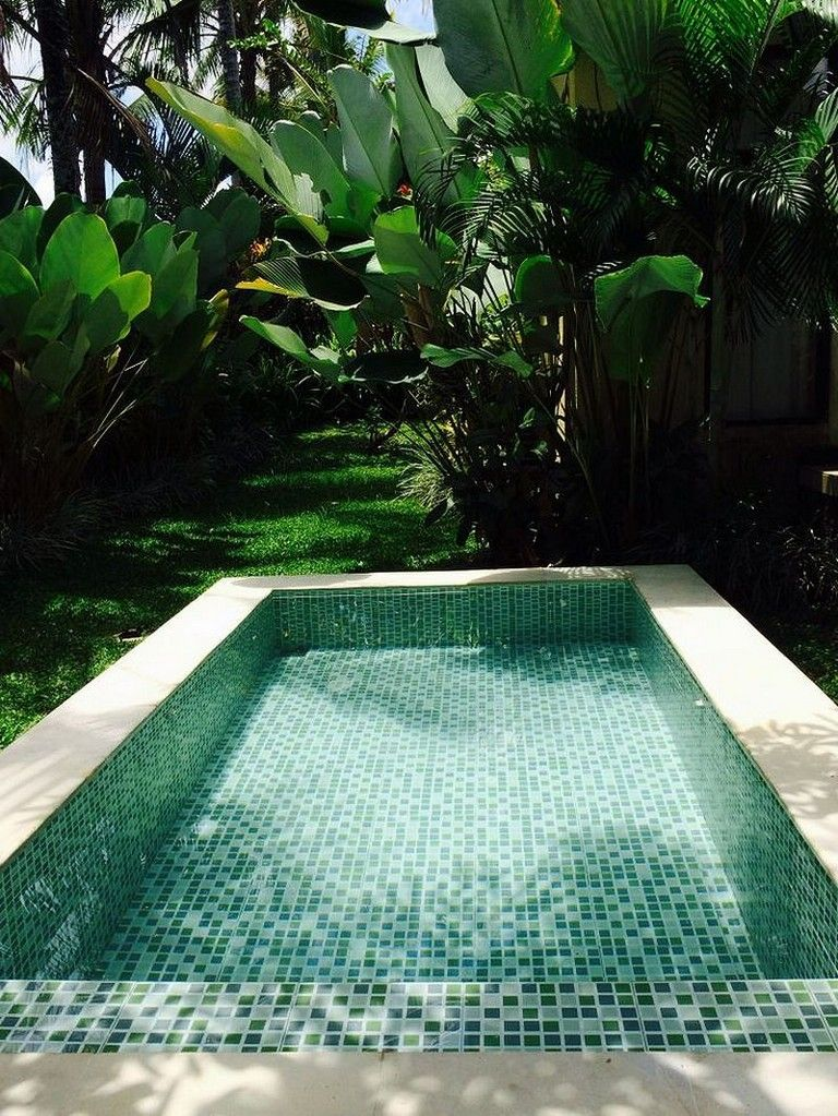 50 Stunning Tropical Home Design With Mini Pool Page 47 Of 54 Backyard Pool Amazing Swimming Pools Swimming Pool Designs