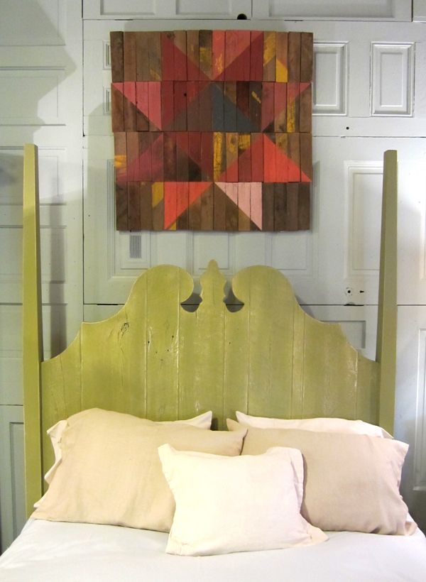 Barn Art quilt square. I love this and would love using wood from ...