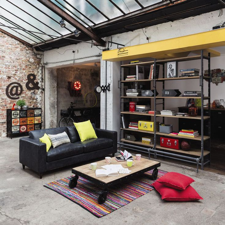 Meubles et d coration de style industriel loft factory - Decoration loft industriel ...