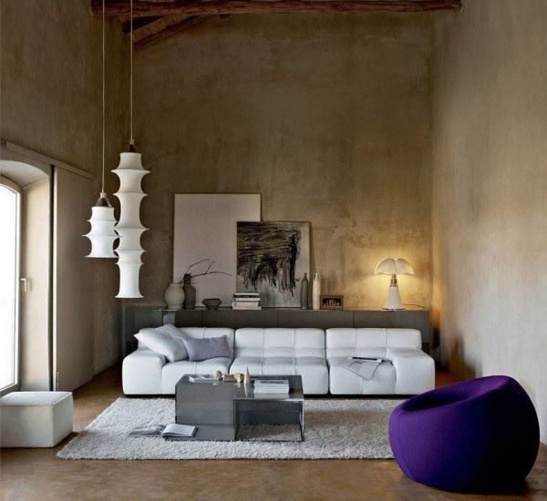 Tufty Time, By Bu0026B, Is A Design Sofa Soft And Rounded, With. Contemporary  Living RoomsContemporary FurnitureDesign ...