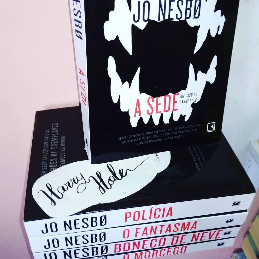 Colecao De Livros Da Serie Harry Hole De Jo Nesbo Livros Dicas