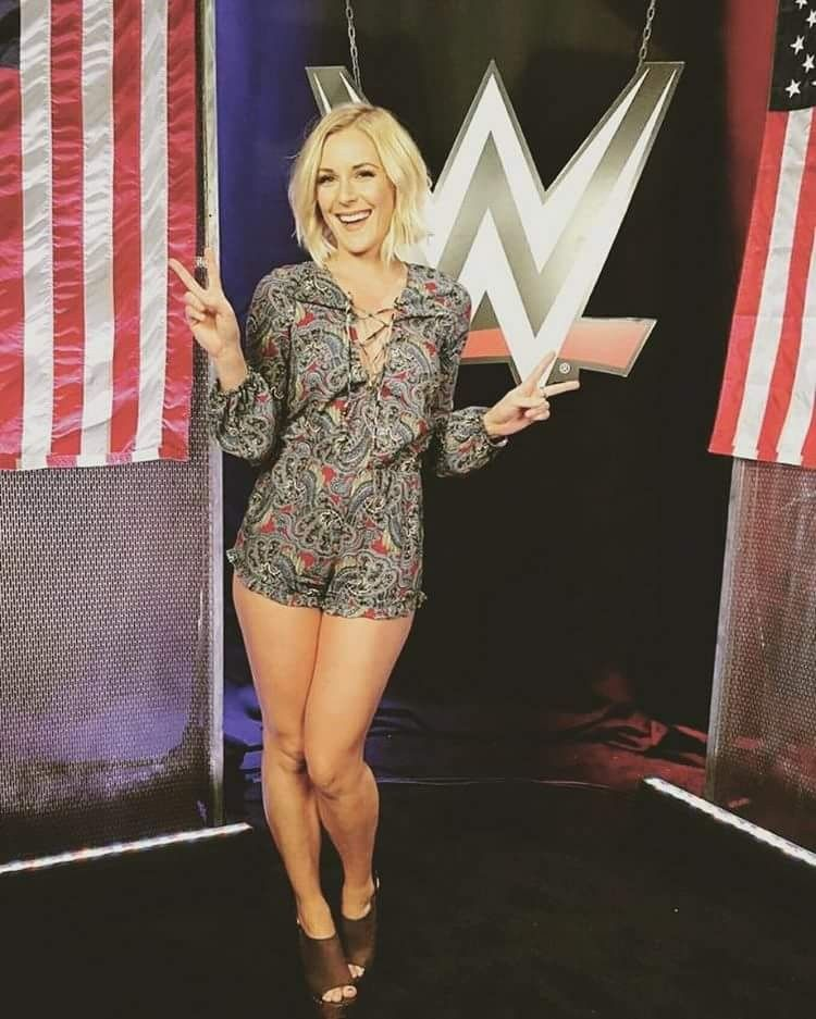 from Anthony wwe renee young upskirt pictures