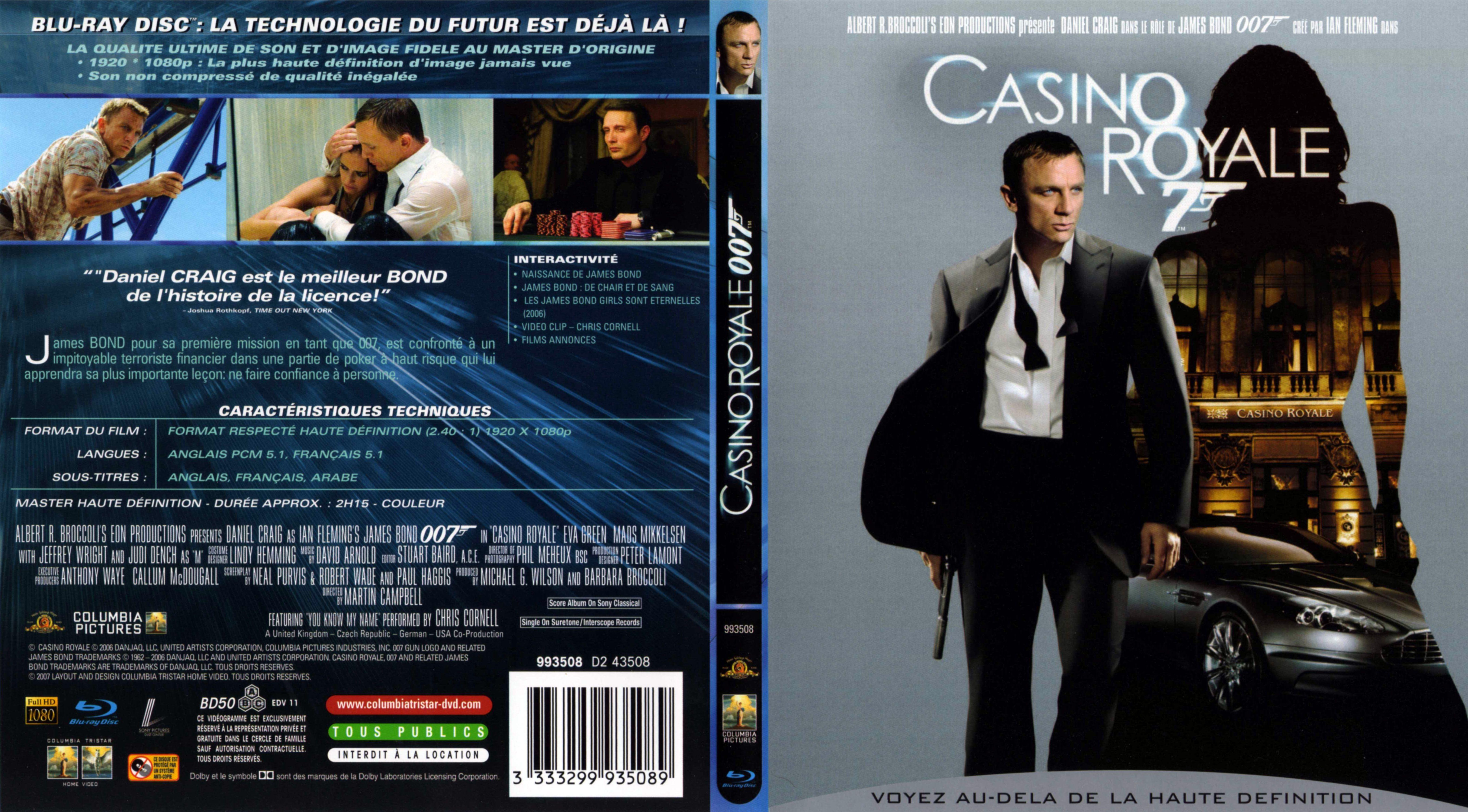 James bond casino royale streaming vf richmond casino night