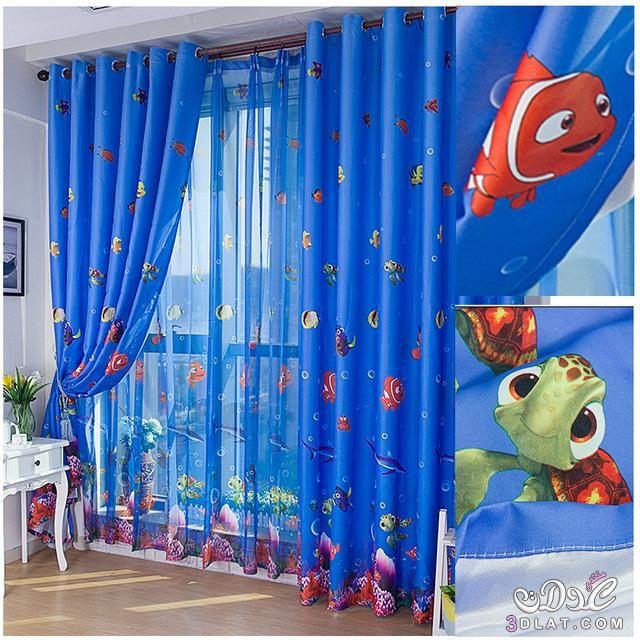 ستائر مودرن 2019 ستائر شيفون ناعمة ستائر بسيطة احدث اشكال ستائر2017 Window Curtains Bedroom Kids Window Curtains Kids Curtains