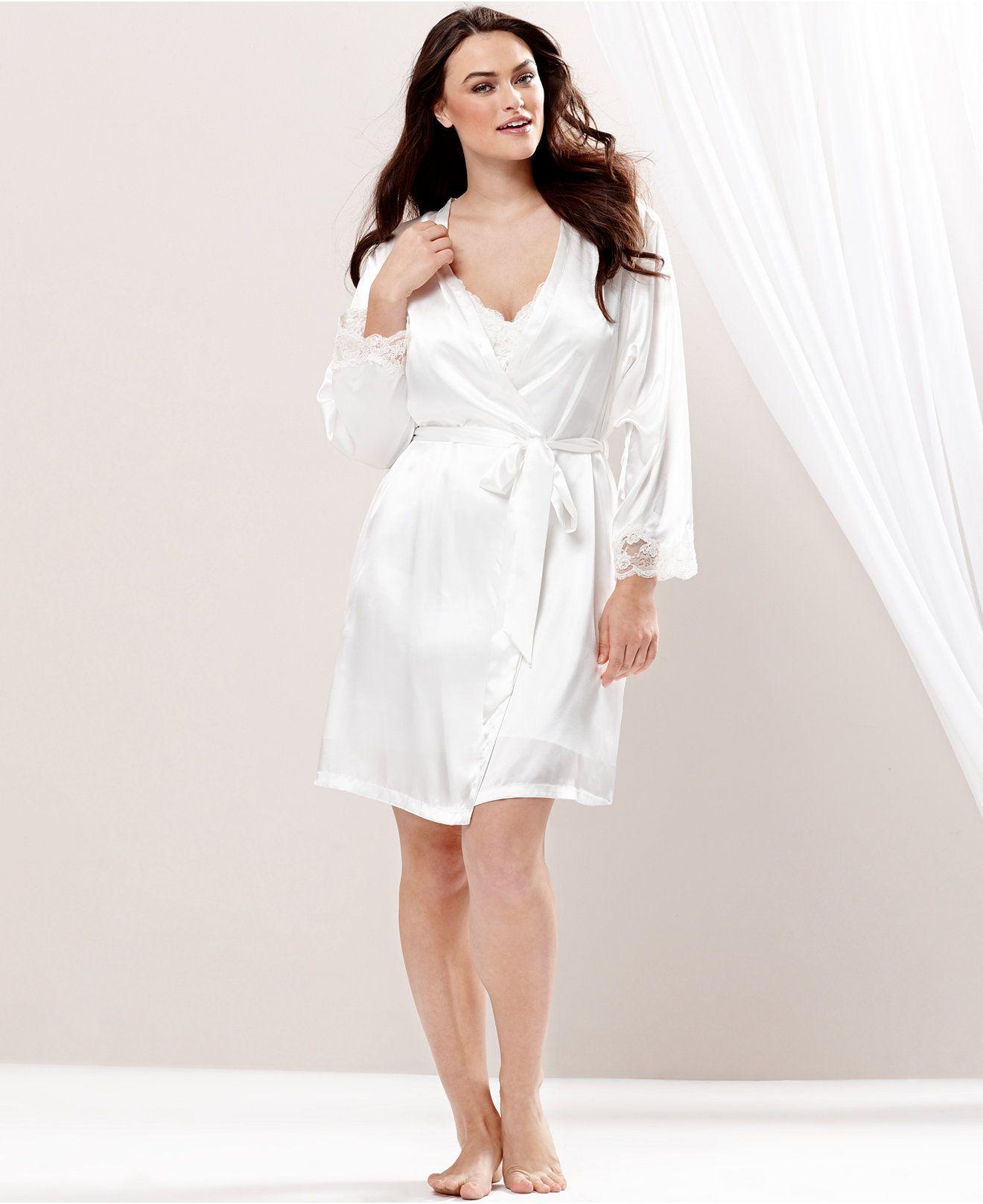 e40237968ae90 Jones New York Plus Size Bridal Wrap - Lingerie - Women - Macy's ...