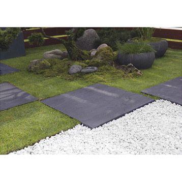 Gravier Blanc Marbre Amenagement Jardin Jardins Jardin Japonais