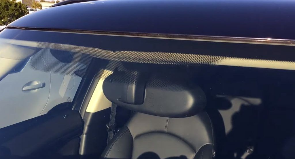 Have You Ever Wondered What Those Black Dots On Your Windshield Are For? | Carscoops