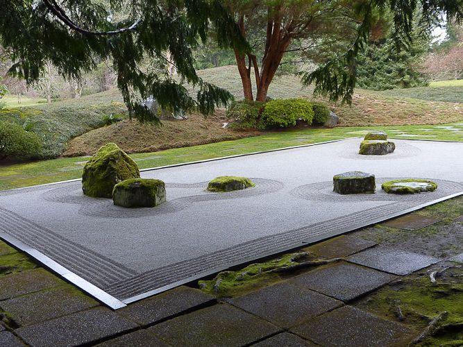 Zen stone groupings zen garden pinterest japanese for Japanese tea garden design ideas
