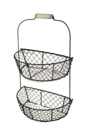 Amazon Com Ohio Wholesale Chicken Wire Wall Basket From Our Everyday Collection Wall Basket Stor Baskets On Wall Wire Wall Basket Ohio Wholesale