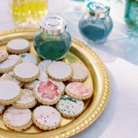 Edible Water Color Paint Recipe   Watercolor cookies ...