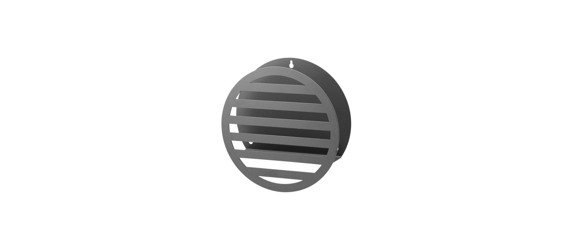 Magasinholderen er grafisk i sit udtryk. Vælg mellem en firkantet, en rund eller en trekanet og  hæng den op på den ene eller anden led - eller lad den stå på gulvet, i reolen eller vindueskarmen.