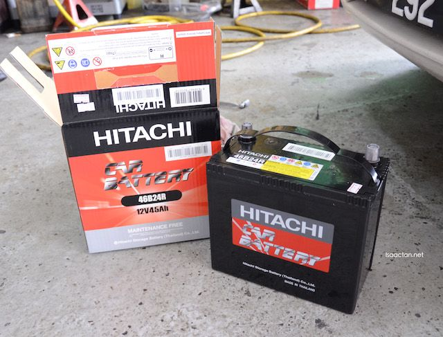 Hitachi Automotive Battery Mfx Series With 2 Years Warranty