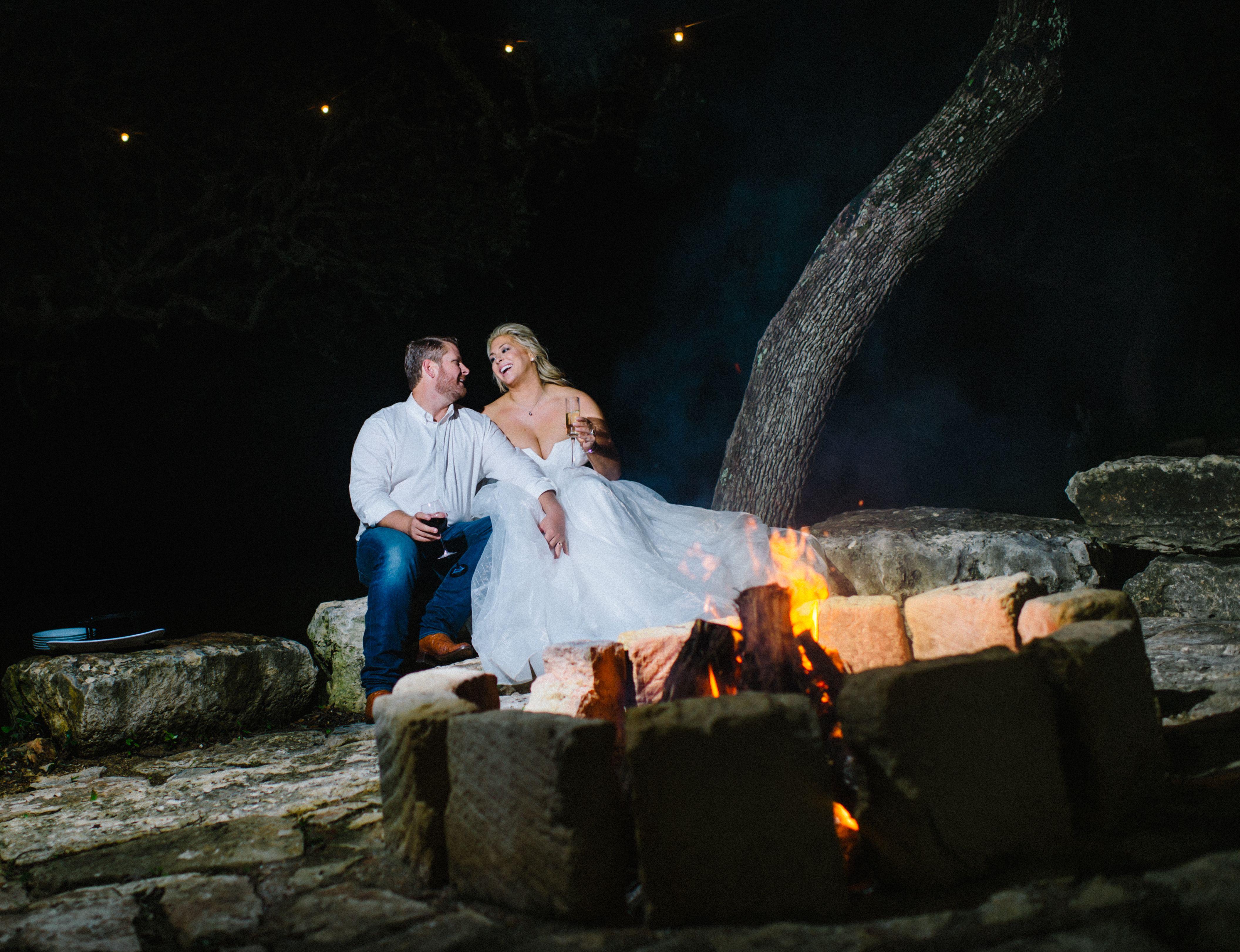 Sedona Lodging | M Diamond Ranch |Dude Ranch Fire Pit