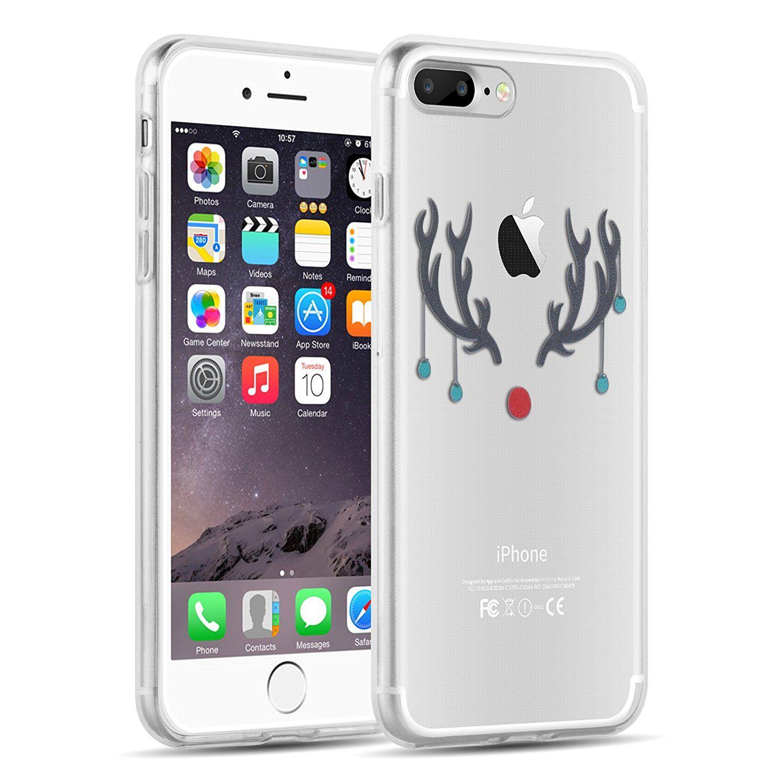 iPhone 8 Plus, iPhone 7 Plus Clear Cas, JAMMYLIZARD Invisible Gel ...