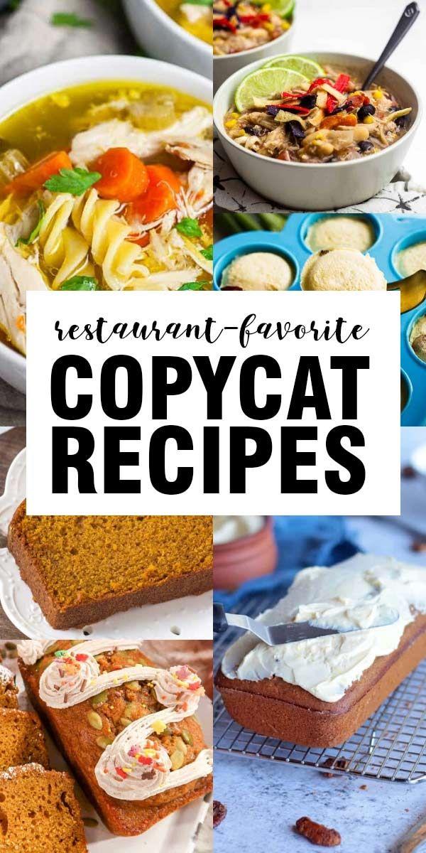 copycat recipes in 2020  copycat recipes recipes