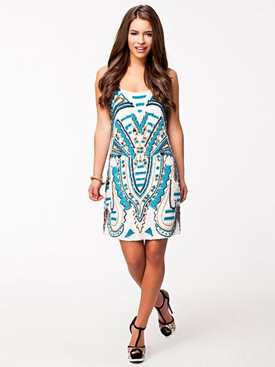 Asti Dress - Forever Unique - Blue - Party Dresses - Clothing ...