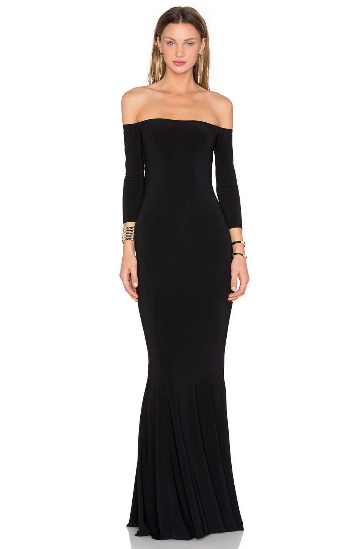 3d0710e57f3730 Off-Shoulder Kleid Schwarz Abendkleider Lang Damenmode | Sexy und Schöne  Kleider - Elegante Abendkleider - Part 16