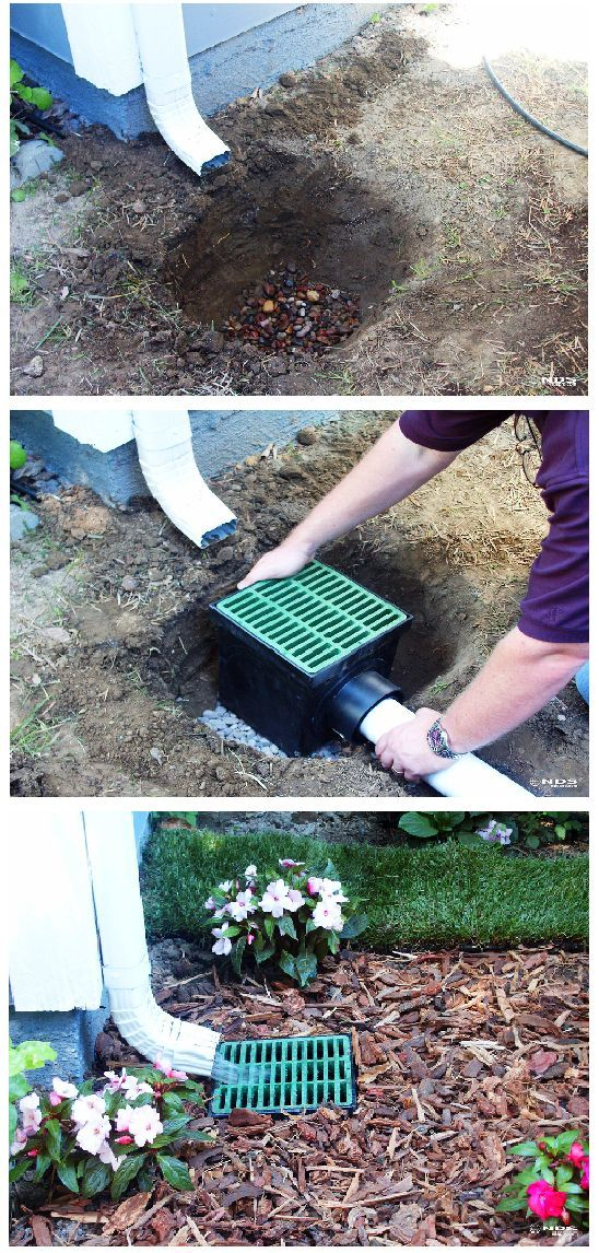 Gardening U0026amp; Outdoor Living Drainage Ideas, Downspout Ideas, Drainage  Solutions, Landscaping Around