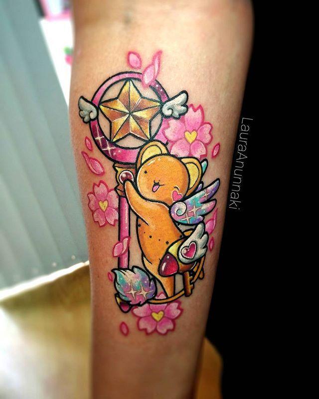 #sakuracardcaptor Themed Tattoo! :3, Este Hermoso Kerito