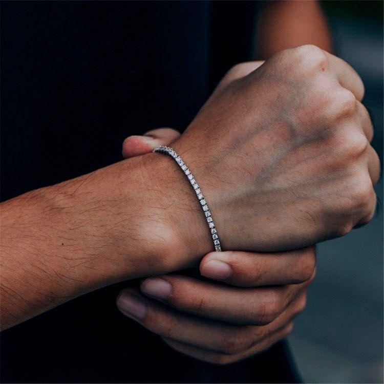 Tumblr In 2020 Tennis Bracelet Mens Diamond Bracelet Tennis Bracelet Diamond