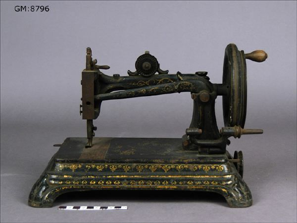 Sewing machine, 19th cent.