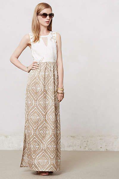 Anthropologie - Galatea Maxi Dress new