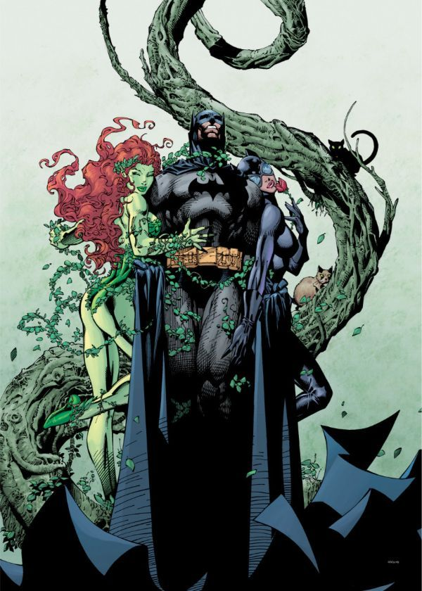 """Official DC Comics Jim Lee Collection Poisonous Game #Displate artwork by artist """"DC Comics"""".… 