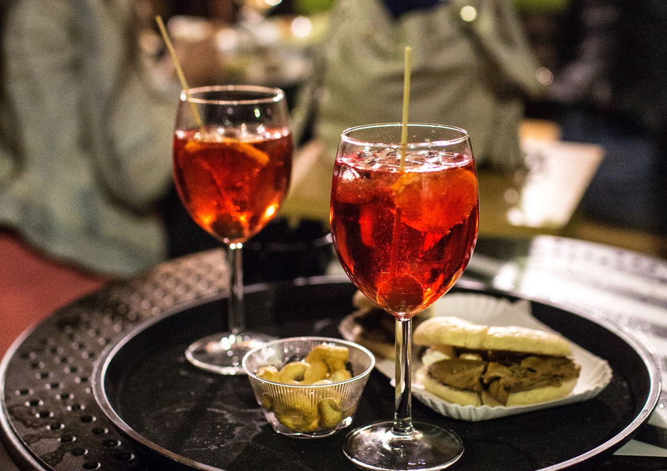 Rome S Best Pre Dinner Bars Happy Hour Drinks Rome Eater