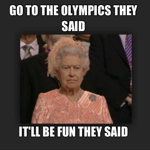 d5bc3fe2c16e074eca07d65d910b6667 meme watch unimpressed queen elizabeth wants those darn olympics