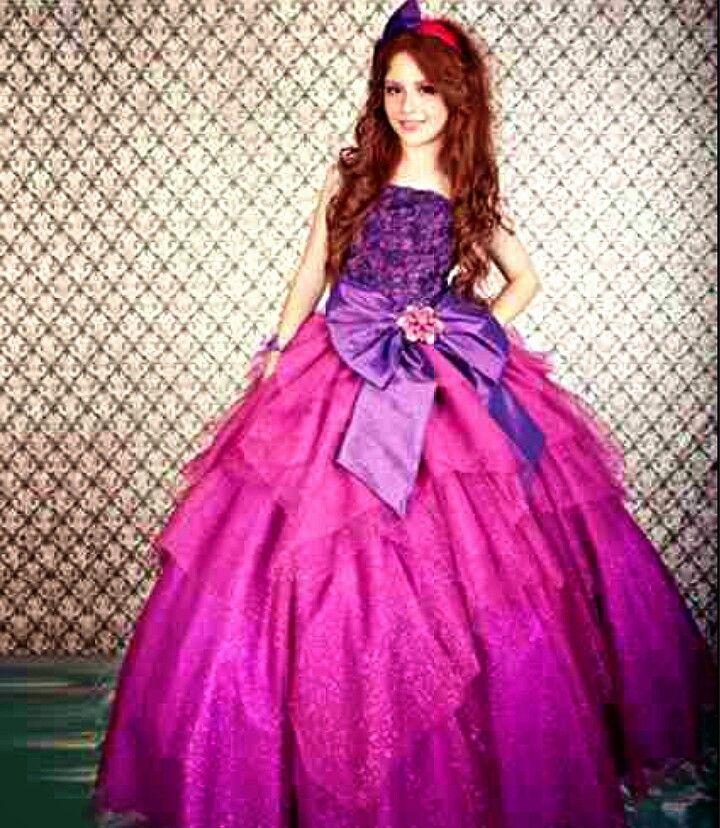 Rosa fiusha con morado   Vestidos de XV   Pinterest   Rosas y Vestiditos