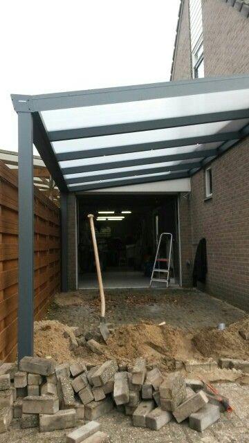 aluminium #carport met dimbare led #verlichting www.fremazonwering ...