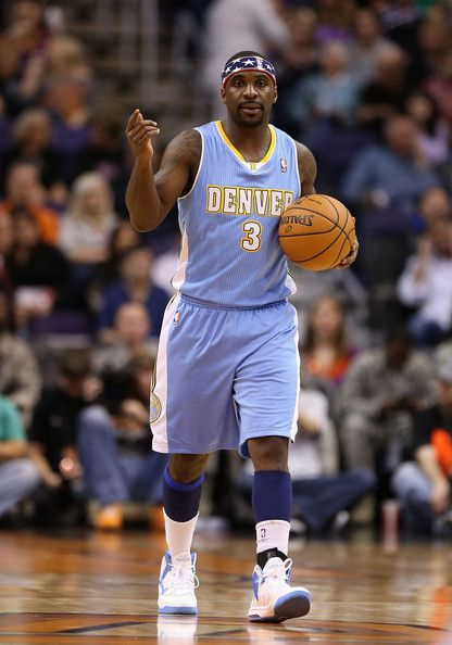 best sneakers 7f85d 8eb84 Ty Lawson in Denver Nuggets v Phoenix Suns   basketball ...