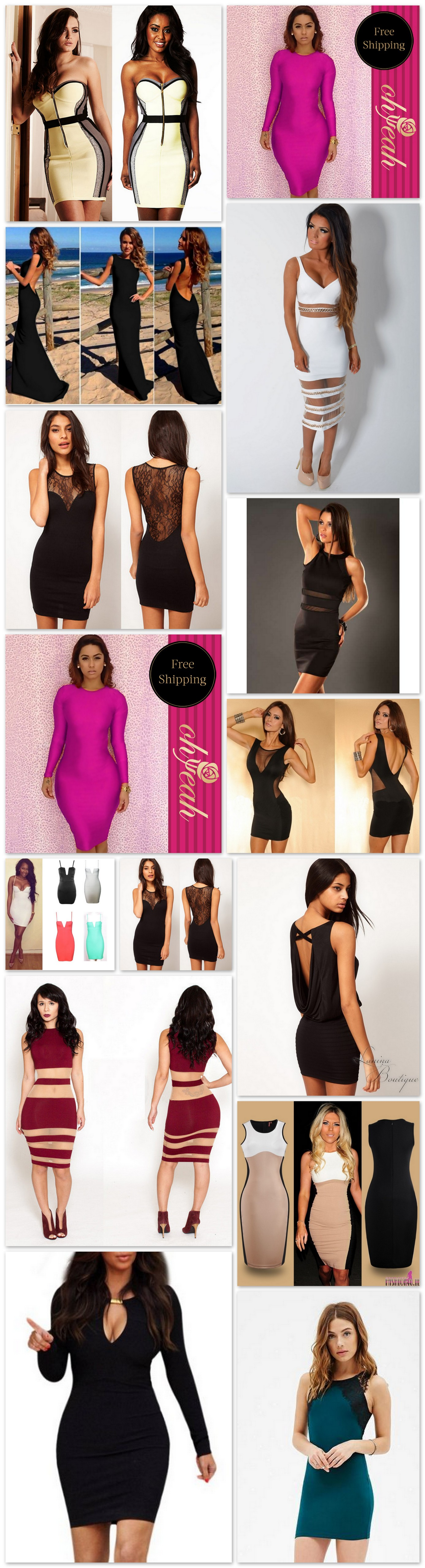 Bodycon Party Dresses 2015   2016