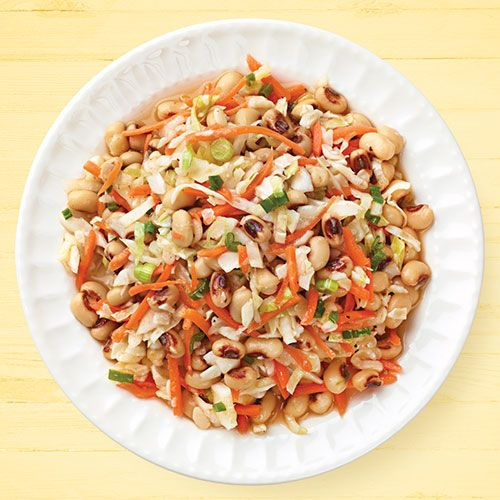 Southern BlackEyed Pea & Cabbage Salad Recipe Cabbage