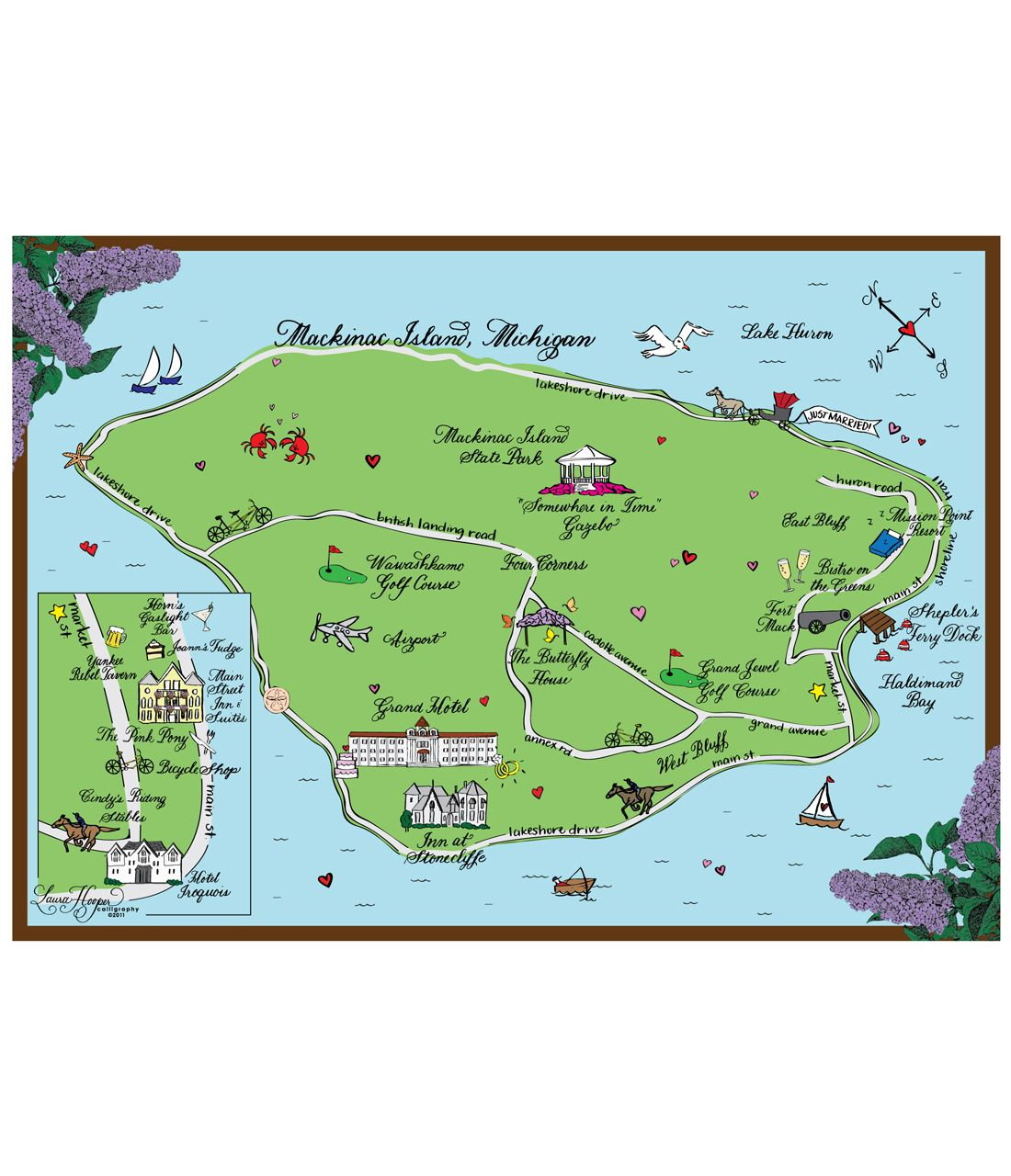 Mackinac Island wedding map tote bags | Favorite Places ... on nantucket hotel map, gaylord hotel map, catalina island hotel map, waikiki hotel map, kauai island hotel map, south manitou island map, aria hotel map, mirage hotel map, bally's hotel map, mgm hotel map, fort mackinac on a map, reno hotel map, mackinac county road map, broadmoor hotel map, cat island map, grand californian hotel map, mackinac michigan map, grand rapids hotel map, excalibur hotel map, frankenmuth hotel map,