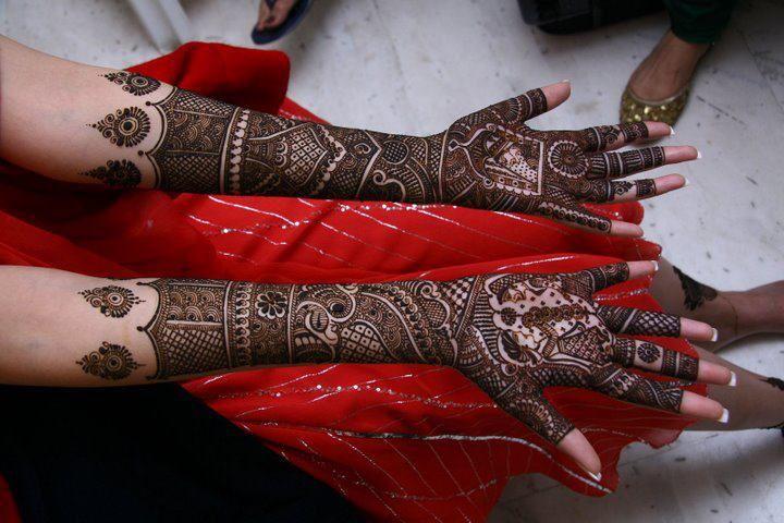 Bridal Mehndi In Bangalore : Puspha mehndi arts bangalore india we are available for all